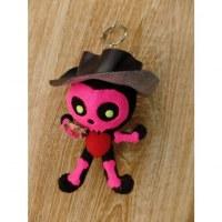 Porte clés big scarecrow rose