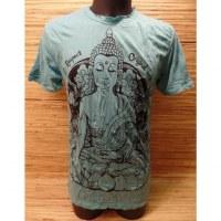Tee shirt turquoise Bouddha Thaï