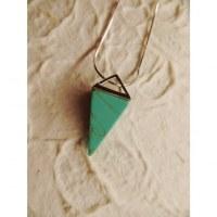Pendule turquoise