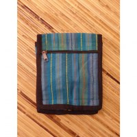 Sacoche pour passeport Koshi bleu