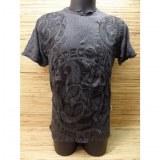 T shirt gris foncé Aum new life