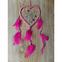 Dreamcatcher rose heart