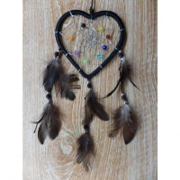 Dreamcatcher noir heart