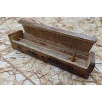 Porte et range encens en bois 2