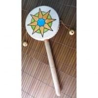 Tambourin étoile à manche