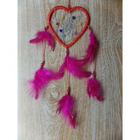 Dreamcatcher rouge heart