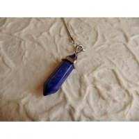 Pendule prisme lapis lazuli