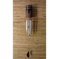 Carillon gravé bambou