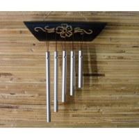 Petit carillon bambou orné