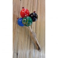 Maracas color bambou