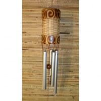 Petit carillon bambou et osier