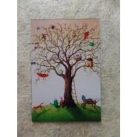 Aimant arbre de vie rigolo
