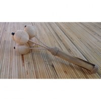 Maracas en rotin et bambou