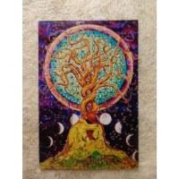 Aimant arbre de vie à 2