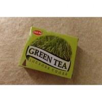 Cônes d'encens thé vert