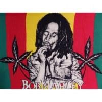 Mini tenture Bob Marley fumant