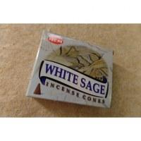 Cônes d'encens sauge blanche