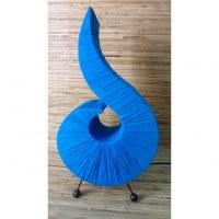Lampe bleue