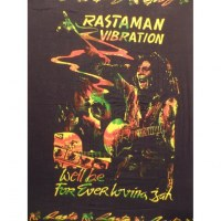 Mini tenture Bob Marley rastaman vibration frise rasta