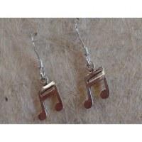 Pendants d'oreilles double croches 1