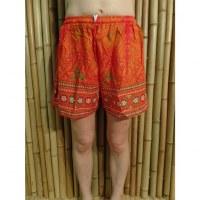 Short orange arabesque