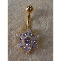 Piercing perce neige strass