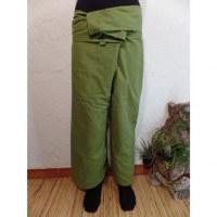 Pantalon de pêcheur Thaï amande
