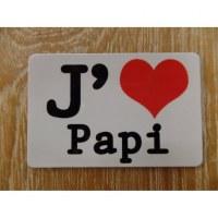 Aimant j'aime Papi