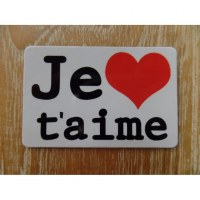 Aimant je t'aime