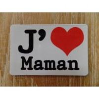 Aimant j'aime maman