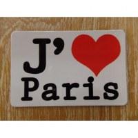 Aimant j'aime Paris
