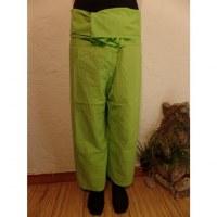 Pantalon de pêcheur Thaï chartreuse