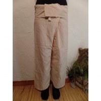 Pantalon de pêcheur Thaï coquille d'oeuf