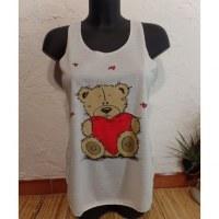 Débardeur un amour d'ourson