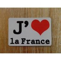 Aimant j'aime la France