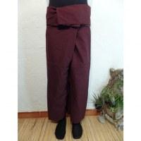 Pantalon de pêcheur Thaï chocolat