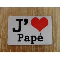 Aimant j'aime Papé