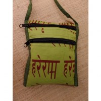 Sac passeport vert clair sanscrit