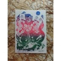 Carte Hanuman et Naga