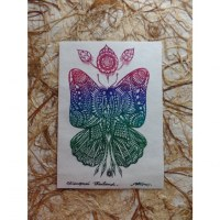 Carte le papillon