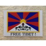 Aimant drapeau Tibet libre