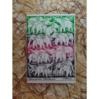 Carte pile d'éléphants