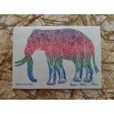 Carte éléphant please love the world