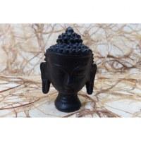 Porte encens tête de Bouddha