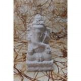 Porte encens en pierre reconstituée Ganesh blanc