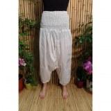 Pantalon Afghan blanc