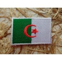 Ecusson drapeau Algérie