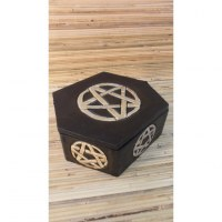Boite hexagonale pentacle