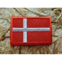 Ecusson drapeau Danemark