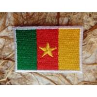 Ecusson drapeau Cameroun